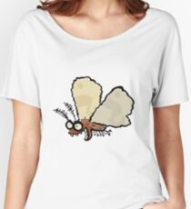 Melli, the mean moth Women's Relaxed Fit T-Shirt