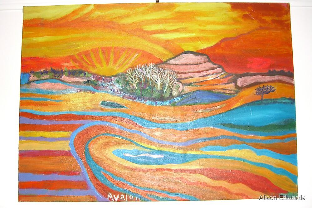 sunrise by Alison Edwards