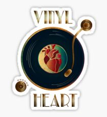 Vinyl Heart Sticker