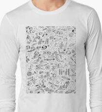 Nerd Space Pattern (Astronaut, space shuttle, NASA, spaceX, constellations...) T-Shirt