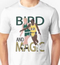 Larry Bird And Magic Johnson T-Shirt