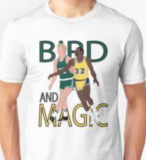 Larry Bird And Magic Johnson Unisex T-Shirt