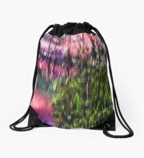 Abstract Outdoors Drawstring Bag
