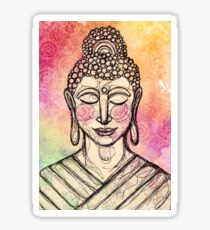 The Mindful Buddha Sticker