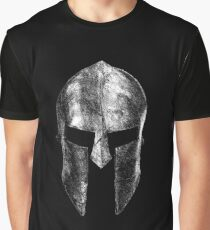 Spartan Helmet Graphic T-Shirt