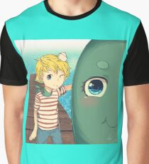 The Marvelous Misadventures of Flapjack Animated  Graphic T-Shirt