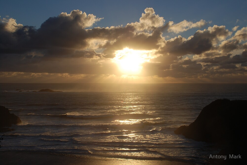 Sunset Breeze by Antony  Mark