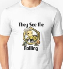 They See Me Rolling | Oxygen Not Included Unisex T-Shirt