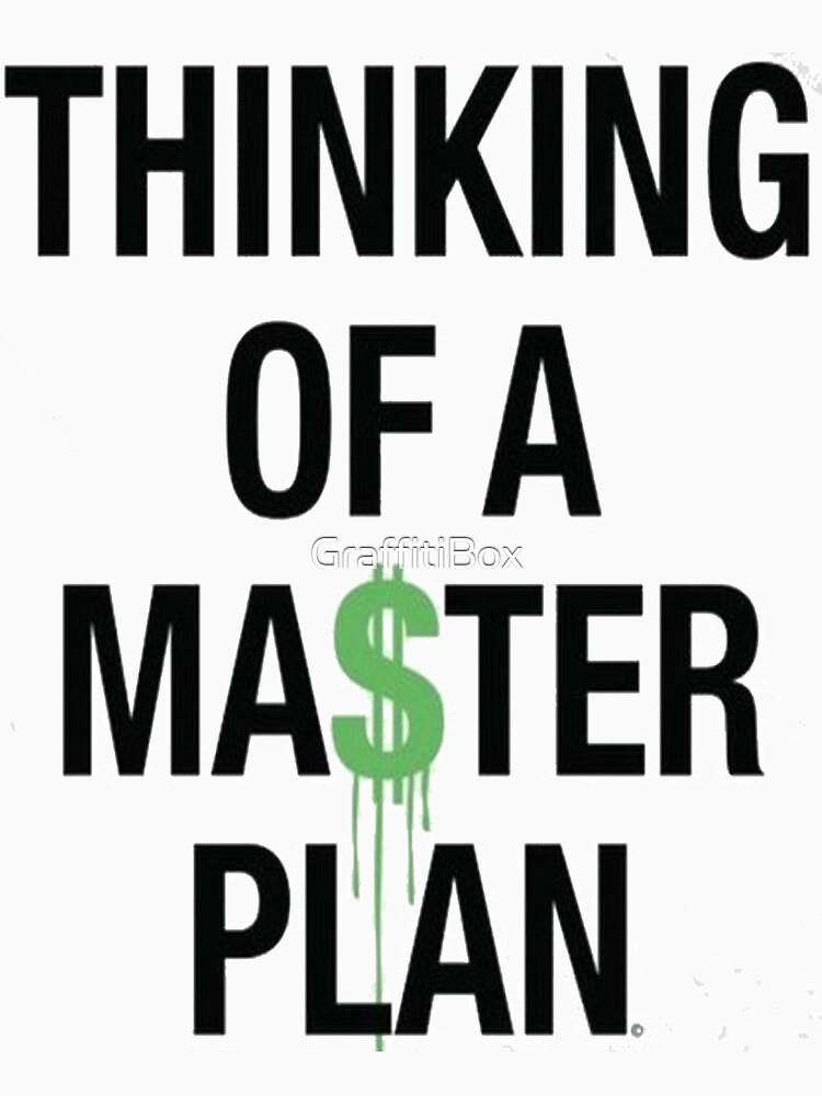 Thinking Of A Master Plan by GraffitiBox