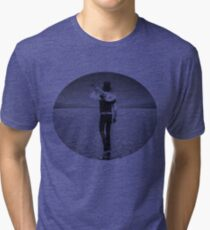 Lonely Man in the desert Tri-blend T-Shirt