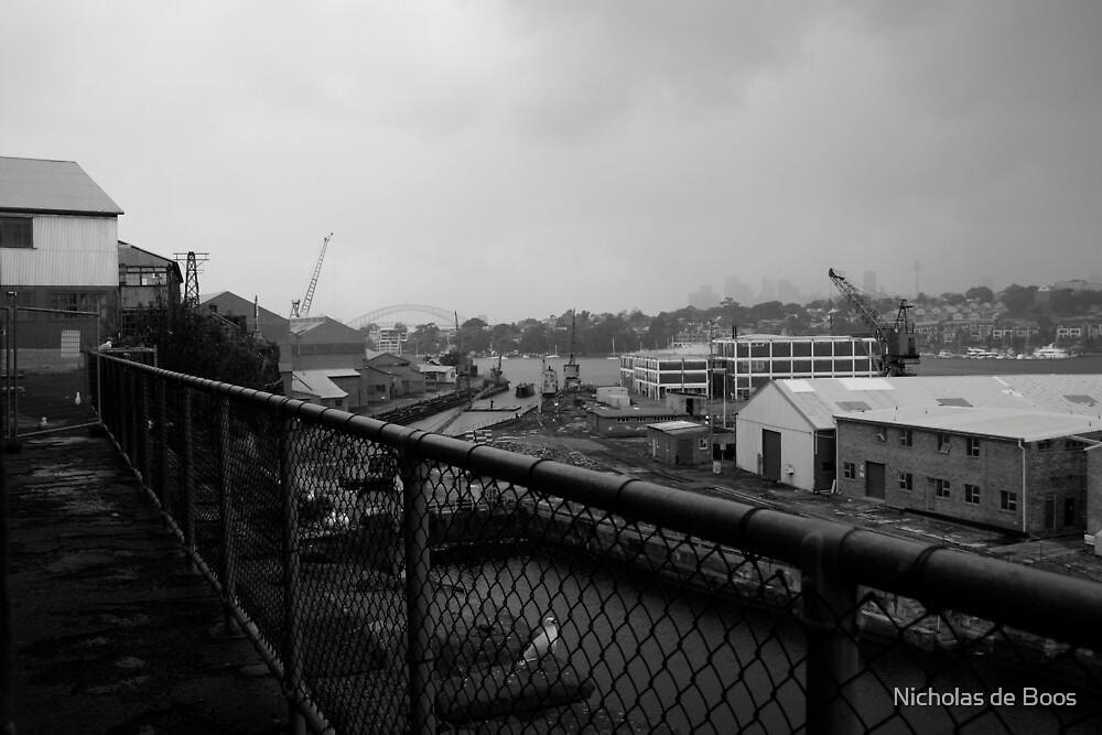 Sydney from Cockatoo Island by Nick de Boos