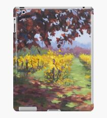 Fall Vineyard Painting iPad Case/Skin