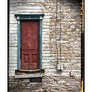 1700's doorway by David Pringle