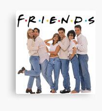 friends cast Canvas Print