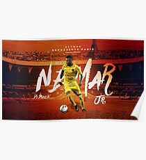 Neymar Jr Paris Saint Germain Poster