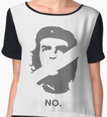 No Che Guevara Women's Chiffon Top