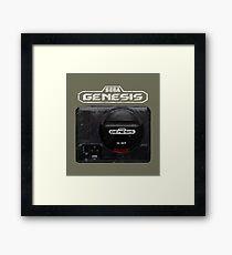 Vintage Genesis 16 Bit V01 Framed Print