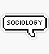Sociology Speech Bubble Sticker