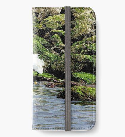 Snowy Egret iPhone Wallet