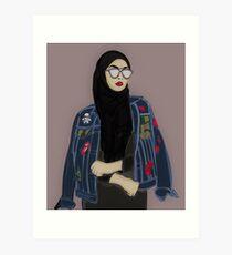 Hijabi Legit  Art Print
