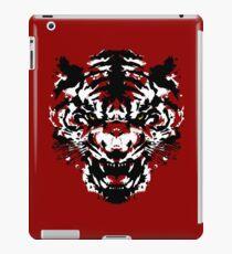 Tiger Ink Yellow Eyes iPad Case/Skin