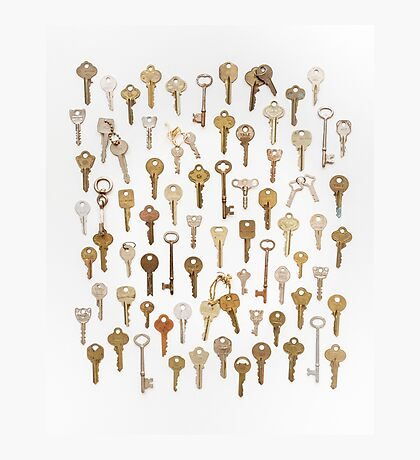 Found Keys Photographic Print