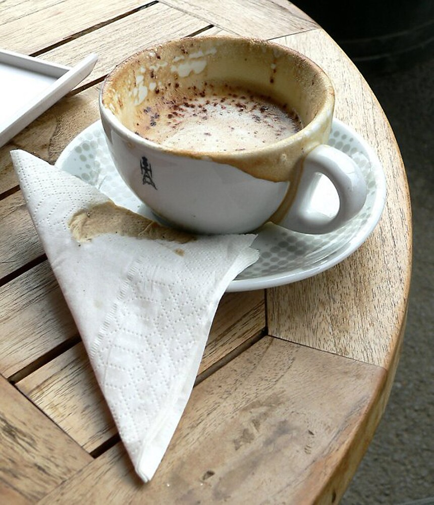 Cafe Society by AUSSKY