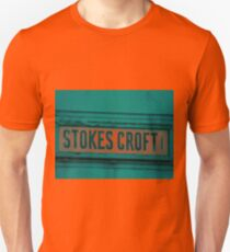 Stokes Croft, Bristol. Street art capital of England T-Shirt