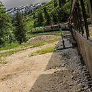 Riding The Rails to White Pass by John  Kapusta