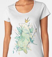 Polar bear king Premium Scoop T-Shirt