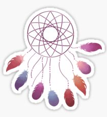 Bohemian feathers Sticker