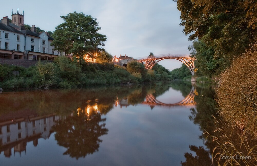 Ironbridge Reflections by Steve Green