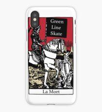 Death Tarot Card iPhone Case/Skin