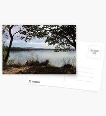 Tranquil river scene Postcards