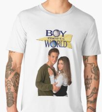 boy meets world cory and topanga Men's Premium T-Shirt