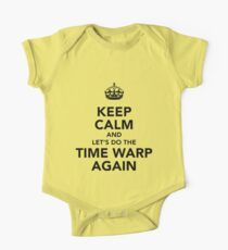 Keep Calm And Let's Do The Time Warp Again One Piece - Short Sleeve
