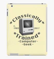 Classically Trained -Computer Geek- iPad Case/Skin