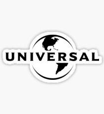 Universal Studios Logo  Sticker