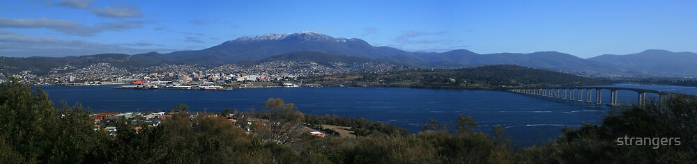 Hobart Tasmania by strangers