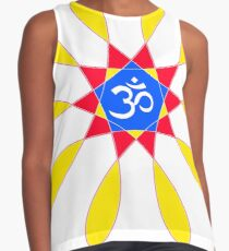 Om Primary Color Pattern   Contrast Tank