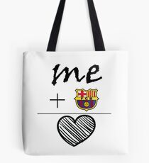Love for FC Barcelona Collection Tote Bag