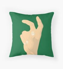 UNT Eagle Claw Throw Pillow