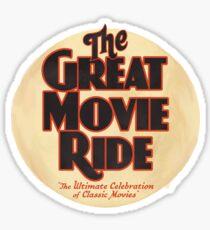 Pegatina Logotipo de Great Movie Ride - RIP