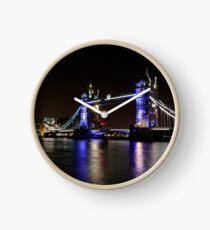 Tower Bridge, London night Clock