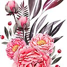 Pfingstrosen Bouquet von BekkaCampbell