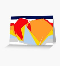 CONTINENTS. Greeting Card