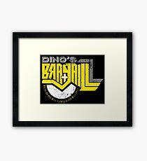 Dino's Bar & Grill Framed Print