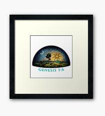 Genesis 1:6 Framed Print