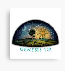 Genesis 1:6 Canvas Print