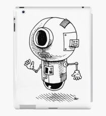 Floating Friendly Bot iPad Case/Skin